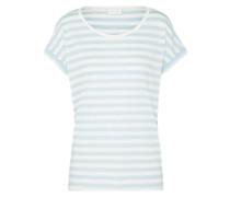 T-Shirt 'Dreamers' hellblau / weiß