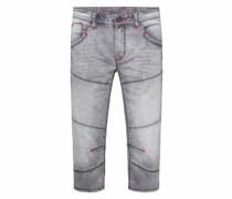 Jogg Skater Shorts He:ry mit Used-Waschung