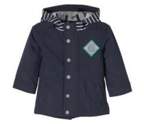 Multifunktionaler Softshell-Mantel dunkelblau