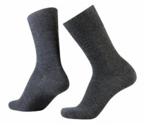 Socken (2 Paar) Wool-Cotton anthrazit