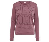 Bedrucktes Sweatshirt pink