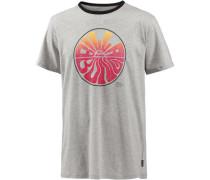 'sunset' T-Shirt grau