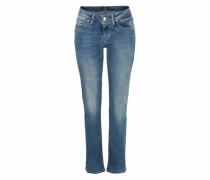 Bootcut-Jeans 'valerie X' blue denim