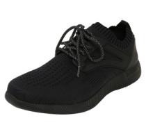 Sneaker mit Bündchen schwarz