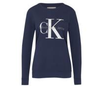Sweater aus Baumwolle blau
