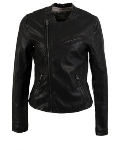 ltb jeans damen bikerjacke damen schwarz 50 reduziert. Black Bedroom Furniture Sets. Home Design Ideas