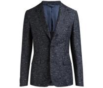 Jacquard-Blazer 'Hopper Soft Camo' blau