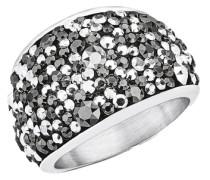 Ring mit Swarovski Kristallen silber