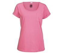 Kurzarmshirt pink