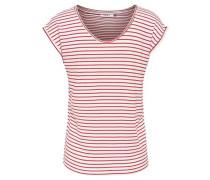 T-Shirt 'Onlsannie' rot / offwhite