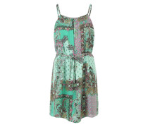 Sommerkleid grün / lila