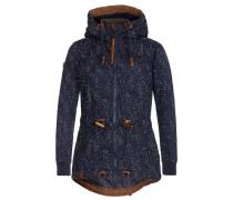 Jacket 'Schmusibumsi' nachtblau / weiß