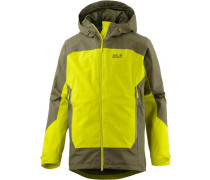 North Slope Funktionsjacke Herren oliv / schilf