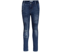 Xslim-Jeans blau