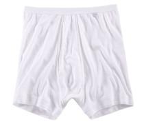 Boxershorts »Noblesse« mit Eingriff und flachem Komfortbund weiß