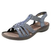 Sandale taubenblau