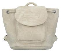 'Maddy Canvas' Rucksack 20 cm beige