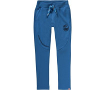 Jogginghose 'ninjago' für Jungen blau / schwarz