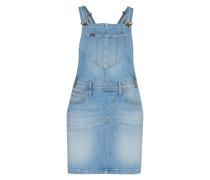Jeans-Latzkleid blau