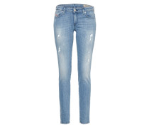 'Gracey' Skinny Jeans 0688E blue denim