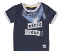 Baby T-Shirt für Jungen nachtblau / hellblau
