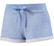 Shorts hellblau / blaumeliert
