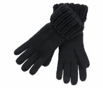 Strickhandschuhe schwarz