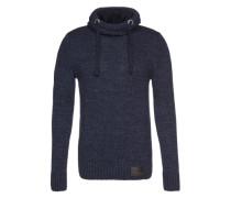 Kapuzenpullover 'Stealth Hood' blau