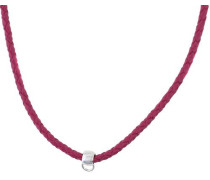 Charm-Halskette mit schönem Lederband Esnl92070D420