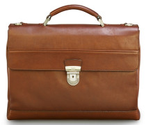 Leder Businesstasche 'Do it' cognac