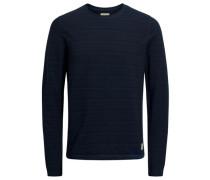 Lässiges Sweatshirt navy / nachtblau