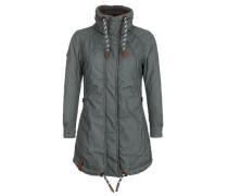 Female Jacket 'Zebratwist' dunkelgrün