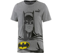'Batman' T-Shirt graumeliert