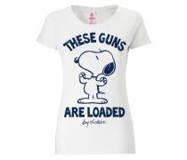 "T-Shirt ""Snoopy"" weiß"