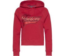 Sweater 'carrie Hoodie LS' rot