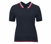 Poloshirt 'Tianna' marine / rot / weiß