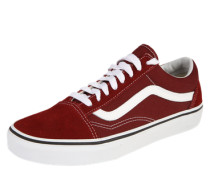 Sneaker 'Old Skool Unisex' bordeaux / weiß