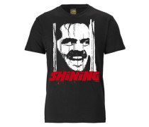 "T-Shirt ""shining"" schwarz"