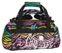 Sport Matchbag Reisetasche 45 cm braun / gelb / pink