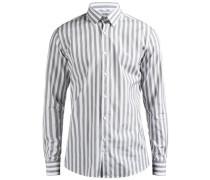 Hemd Daniel Button-Down Mason Streifen- grau