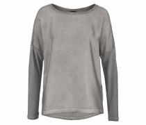 Blusenshirt grau / silber