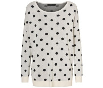 Oversize Pullover 'dotty' creme
