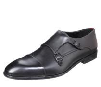 Monkstrap in edler Leder-Qualität schwarz