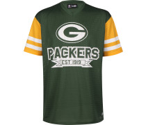 T-Shirt 'nfl Contrast Sleeve Oversized Green Bay Packers'