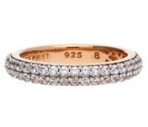 Damen Fingerring 925 Silber Rosegold Elegance Esrg91667G rosegold / silber