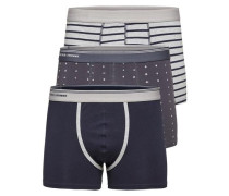 Boxershorts blau / grau