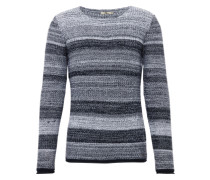 Pullover 'nojera Pullover' navy / grau / weiß