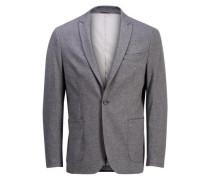 Sweat-Blazer grau