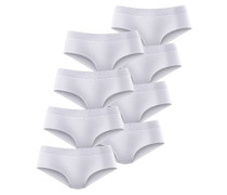 Spitzen-Slip (8 Stck.) weiß