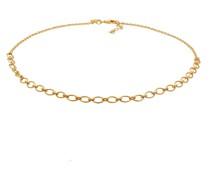 Halskette Basic Kette Choker gold